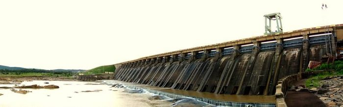 Hirakud Dam Panoramic View