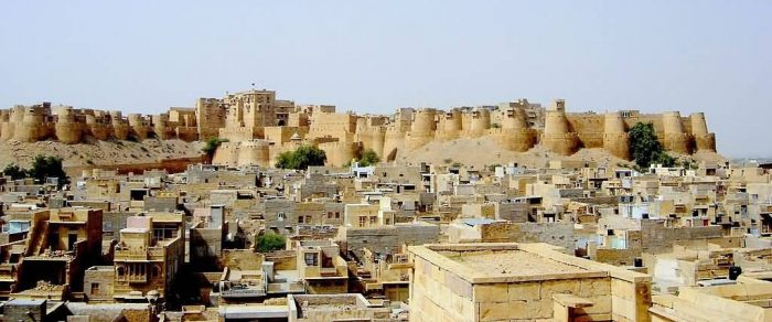Jaisalmer Fort Panoramic View