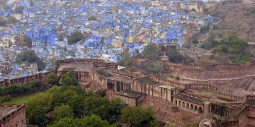 Blue City Next to Mehrangarh Fort