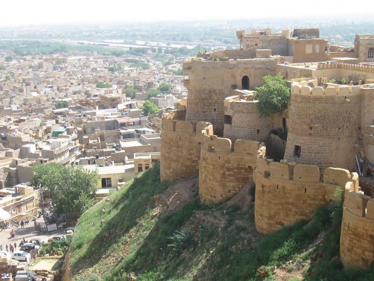 Jaisalmer Fort And City