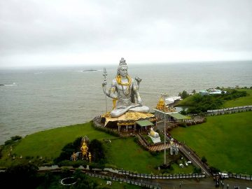 Lord Shiva Statue At Murudeshwara