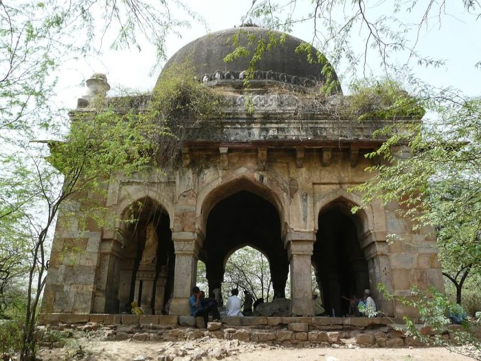 Tomb In Mehrauli