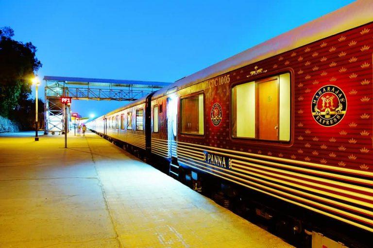 Maharajas Express Un Train De Luxe En Inde