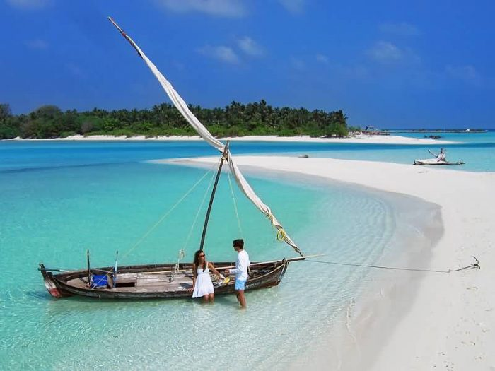 Sunny Space In Maldives