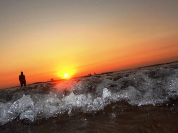 Sunset At Diveagar Beach
