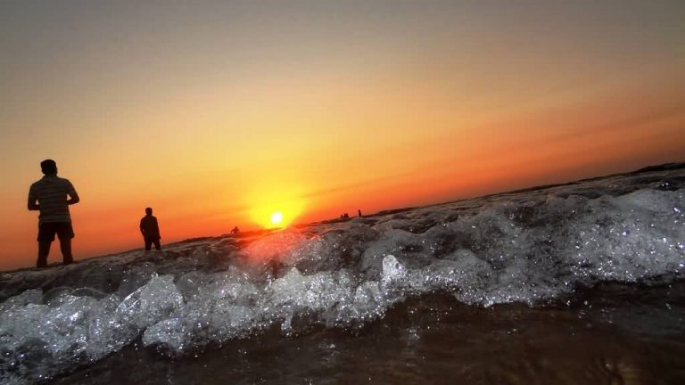 Sunset At Diveagar Beach