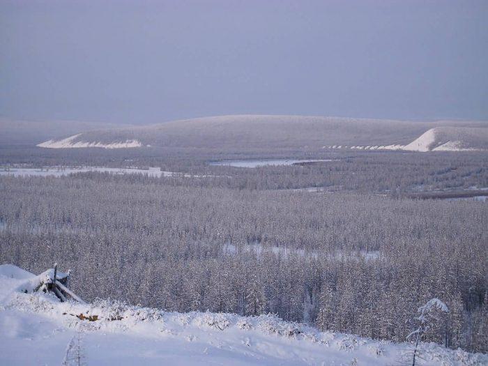 The Valley Basin Of Verkhoyansk