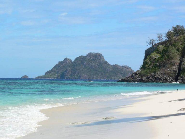 White Sand Beach In Fiji
