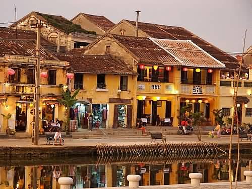 A Riverside Photo Of Hoi An