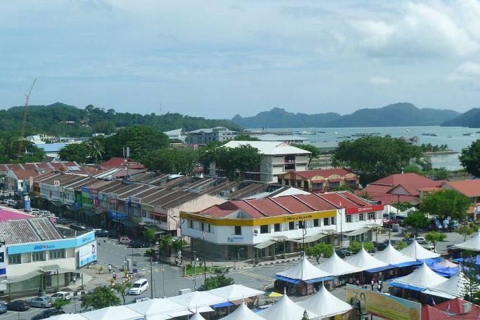 Pulau Langkawi Kuah Town