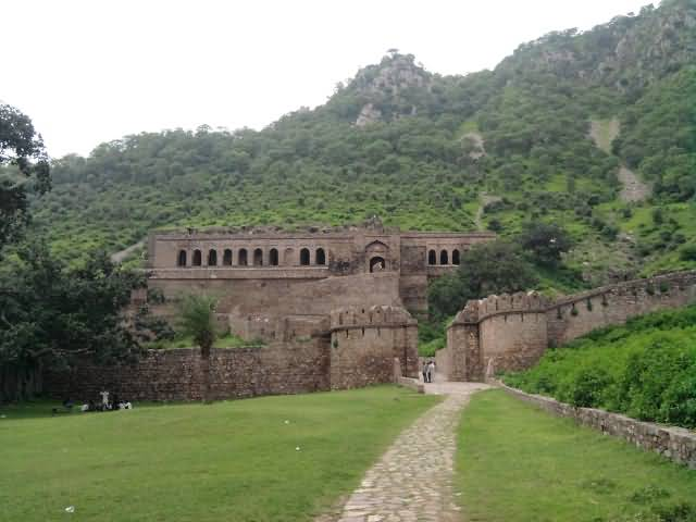 Remains Of Bhangarh Fort