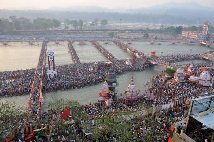 Shahi Snan In Kumbh Mela