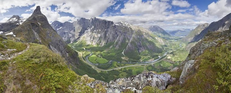 View To Romsdalen, Norway