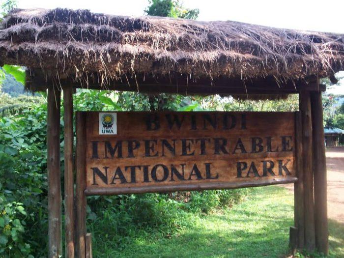 Bwindi Entrance
