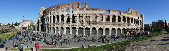 Colosseum Panoramic View