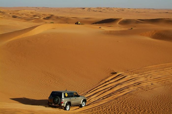 Rally Off Road Sahara Desert