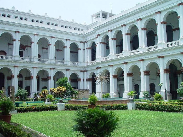 Court Yard Of Indian Museum