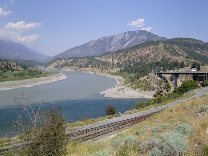 Fraser River And Thompson River