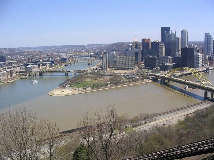 Monongahela River And Allegheny River