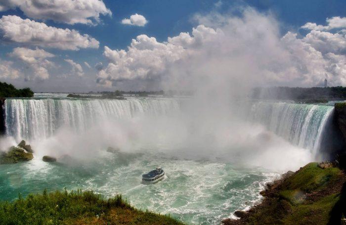 Niagara Falls In Summer