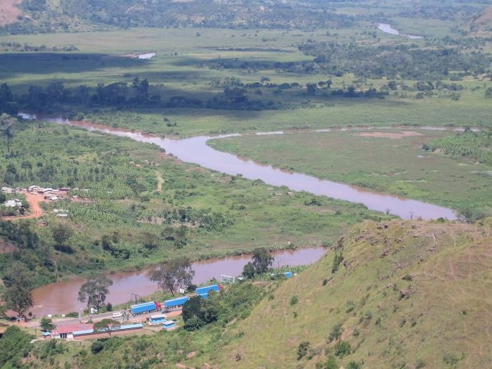 The Confluence Of The Kagera And Ruvubu Rivers