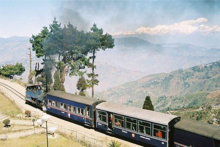 Railway On Batasia Loop