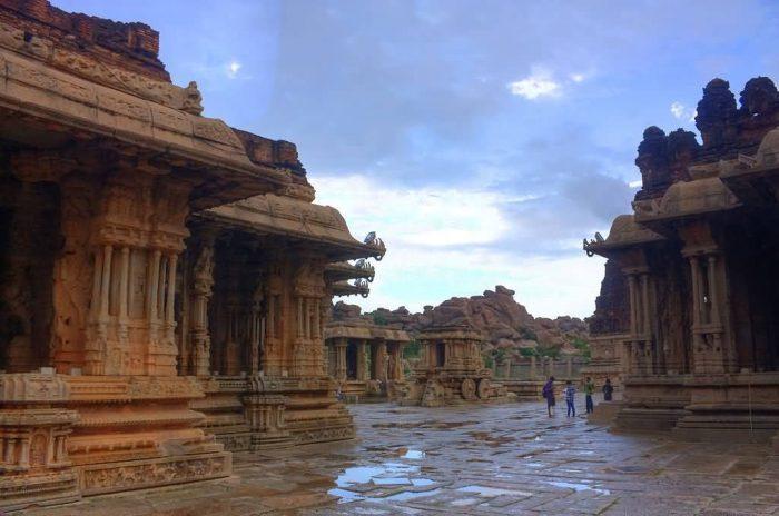 The Mandapas Of Vittala Temple