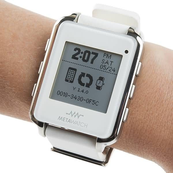 Metawatch White Frame