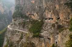 Guoliang Tunnel Road, China