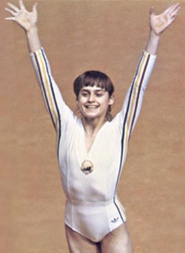 Nadia Elena Comăneci