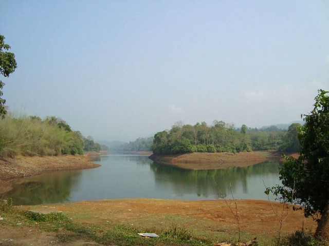 Dam Site On The Way To Valparai