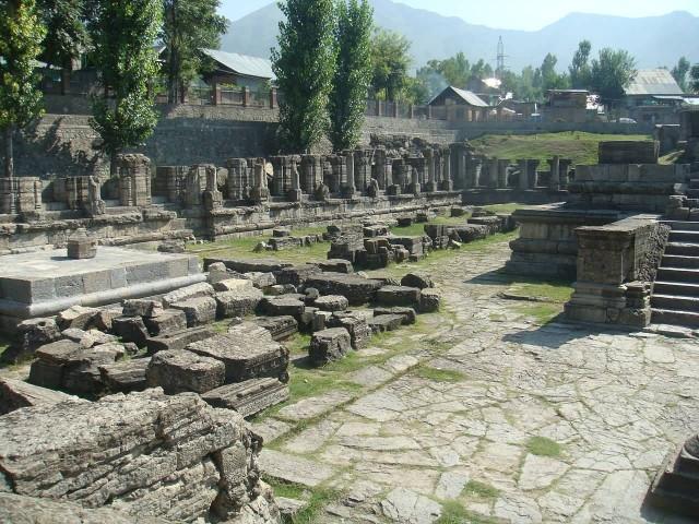 Awantipura Ruins In Pahalgam