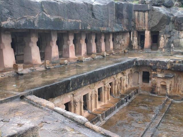 Cave Monastry In Khandagiri