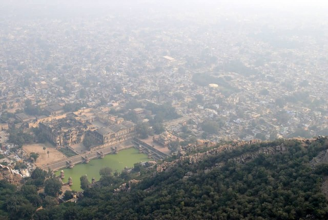 City Of Alwar From Bala Quila