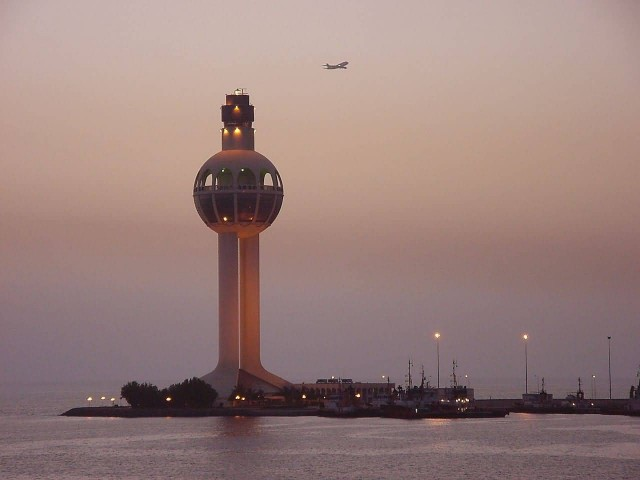 Jeddah Light At Evening