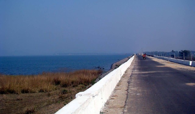 Left Dyke Of Hirakud Dam