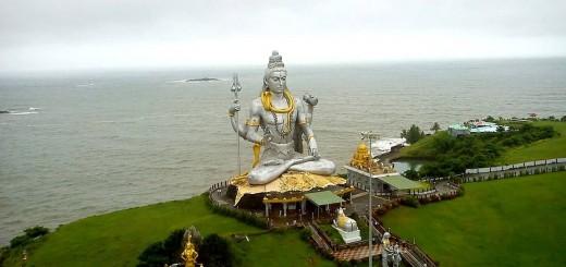 Lord Shiva Statue At Murudeshwara