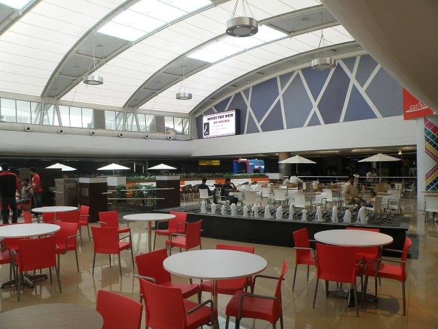 Mantri Square Mall, Food Court Seating