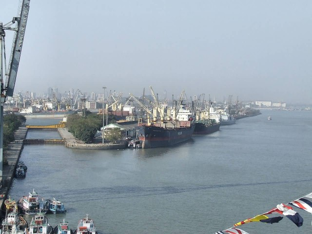 Mumbai Docks