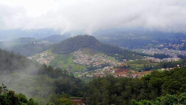 Ooty Aerial View
