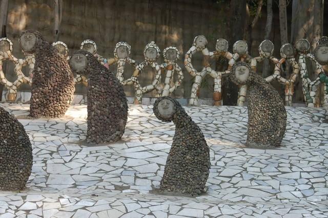 Rock Garden Statues