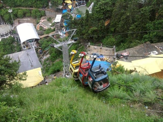 Ropeway Car In Mussoorie