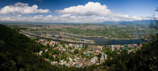 Srinagar Panaromic View