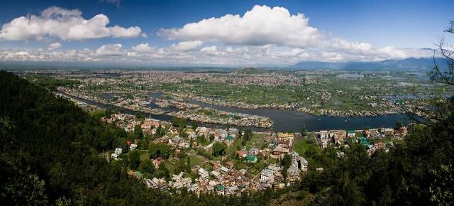 Srinagar Panaromic View