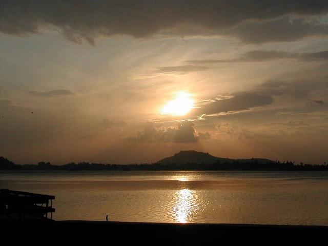 Sunset On Dal Lake