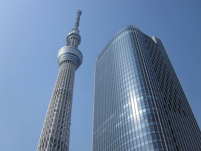 Tokyo Skytree And East Tower