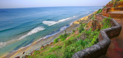 Varkala Beach Cliff View