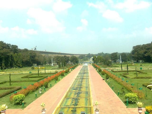Vrindavan Garden, Krishnarajasagara Dam