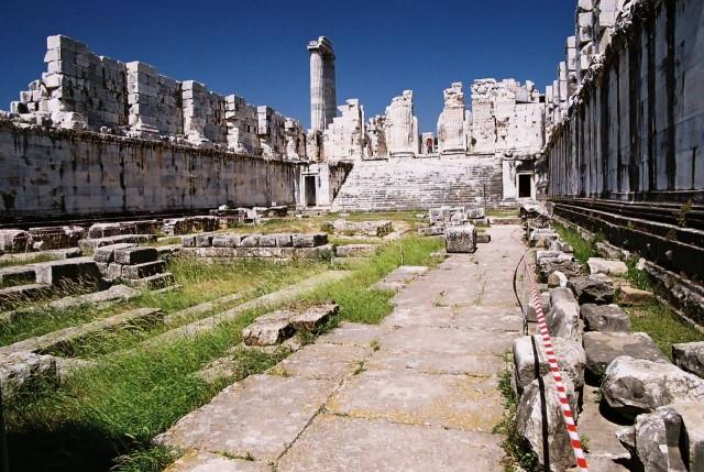 Inside View Of Artemis Temple