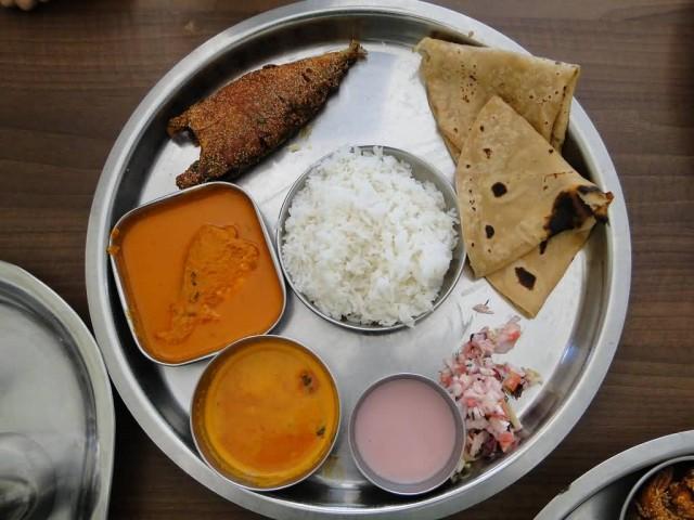 Malvani Fish Thali